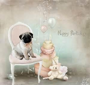pug birthday card pug birthday cards