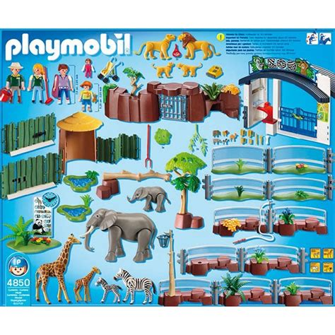 playmobil large zoo playset