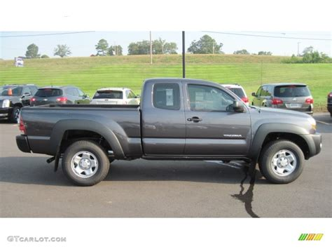 magnetic gray magnetic gray metallic 2011 toyota tacoma access cab 4x4