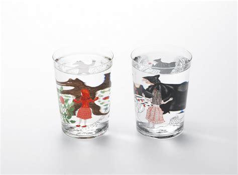 japanese barware fun fairy tale glassware that also teaches you physics