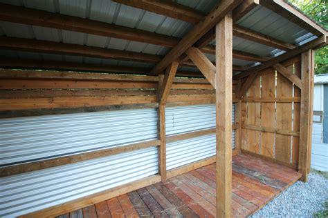 timber frame lean  shed craftsman shed ottawa