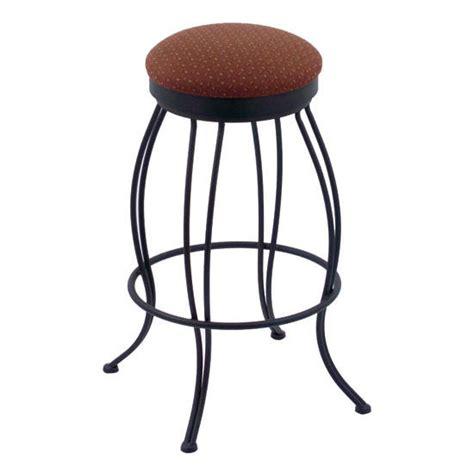 wrought iron swivel bar stool with fabric or vinyl