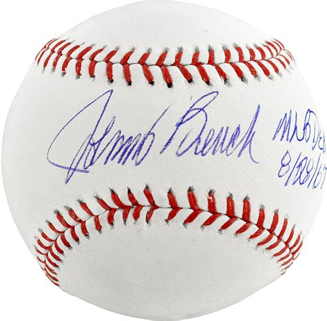 johnny bench seven baseballs johnny bench 7 baseballs 28 images my town monday