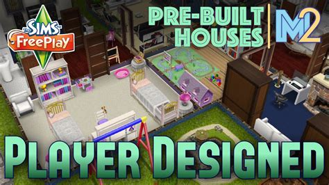 sims freeplay player designed house on premium lot