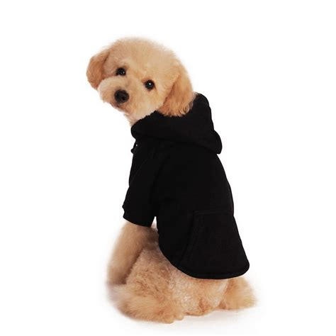 puppy sweatshirt new style popular pet sweater small hoodies black color for clothing
