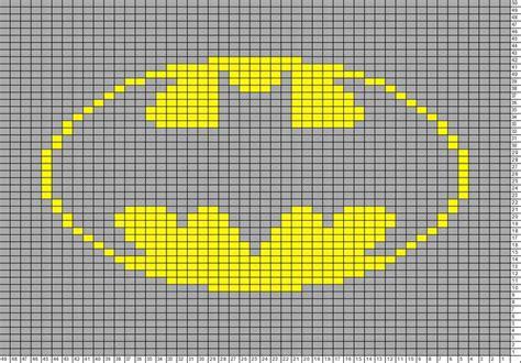 batman knitting chart tricksy knitter charts batman large batman