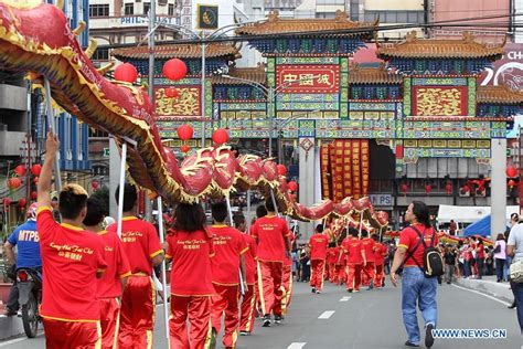 xinhua new year dancers perform to celebrate lunar new year