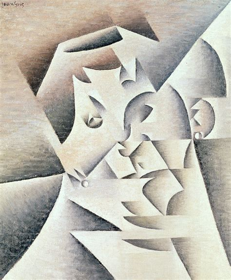 Duvet Sales Mother Of The Artist Painting By Juan Gris
