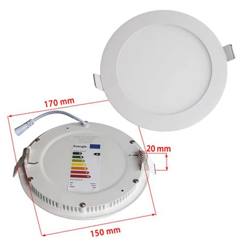 dimmable led recessed lights dimmable 12w round recessed ultra slim ceiling led light