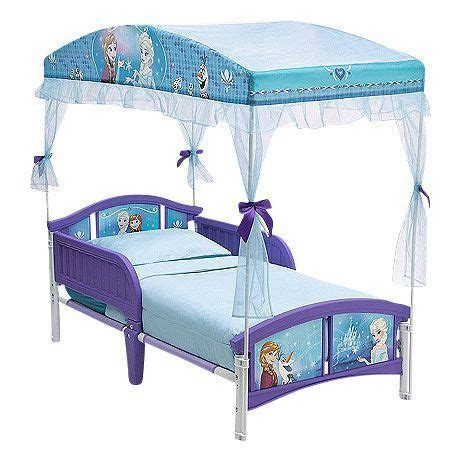 Frozen Toddler Bed With Canopy by Delta Disney Frozen Toddler Canopy Bed Household Items