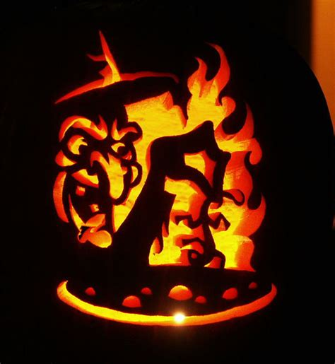 5 best halloween scary pumpkin carving stencils 2013 witch cauldron pumpkin stencil www pixshark com images
