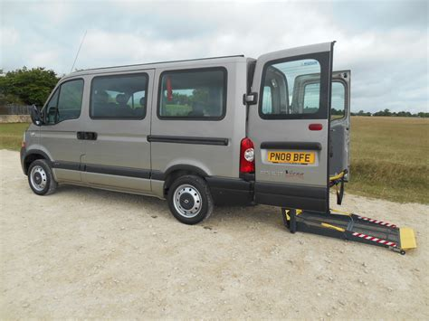 2008 renault master 5 swb wheelchair accessible minibus