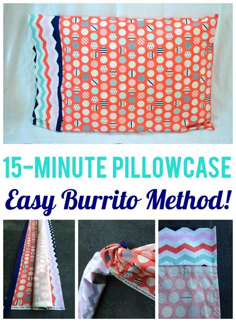 sewing pattern pillowcase free pattern feature craft buds
