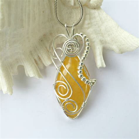 Handmade Aluminum Wire Jewelry - wire wrapped jewelry handmade wire wrap pendant