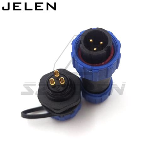 Connector Besi 3 Pin 2 Sets 2 pins 3pin 4pin 5pin 6pin 7pin 9pin waterproof dustproof aviation connector ip68 and