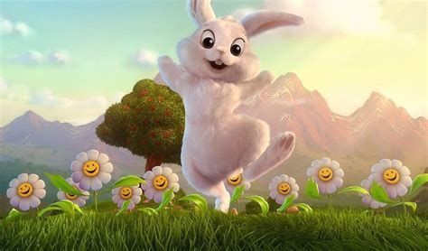desktop easter themes happy easter bunny desktop wallpapers new hd wallpapers