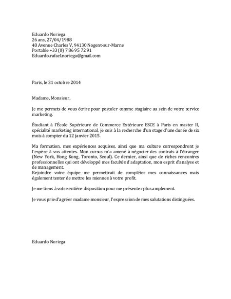 Lettre De Motivation Apb A La Lettre De Motivation Shangri La