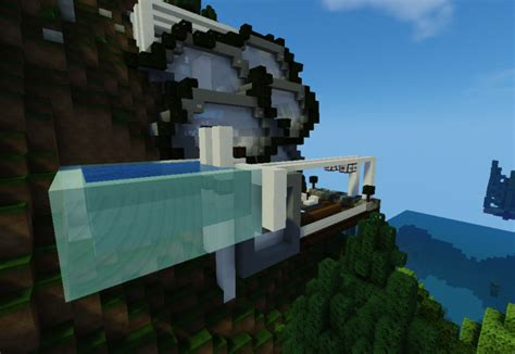 hive modern hive modern house minecraft project