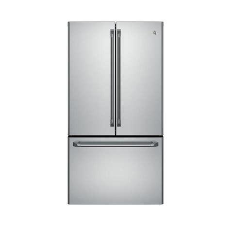 ge cabinet depth refrigerator ge caf 233 23 1 cu ft counter depth french door