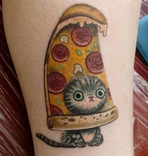 tattoo cat pizza quot what kind of tattoo do i want i dunno i like cats and