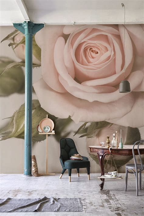 beautiful flower wallpapers for you home interior amazing decorating tips to use wallpaper 22 ideas home