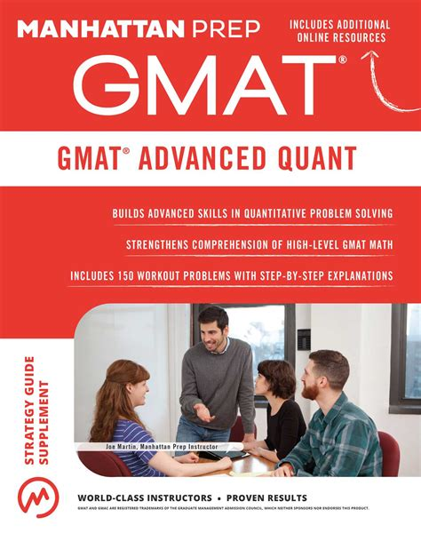 Certified Mba Prep Guide by Gmat Advanced Quant Ebook By Manhattan Prep Official