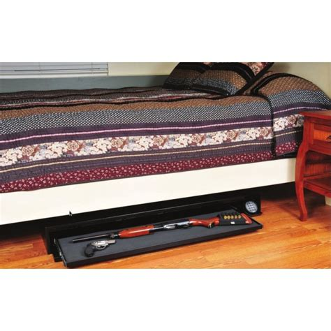 under bed rifle safe amsec dv652 under bed rifle gun safe with electronic lock free shipping