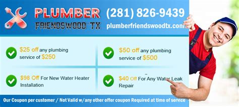 Friendswood Plumbing by Plumber Friendswood Tx