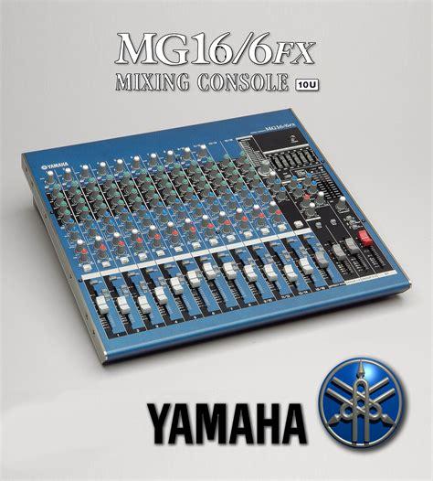 Mixer Yamaha Mg 16 Fx yamaha mg16 6fx image 363415 audiofanzine
