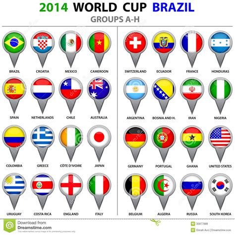 printable flags of the world cup 2014 soccer andelino s weblog
