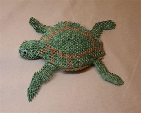 3d Origami Turtle - sea turtle 6 jpg album heidi lenney 3d origami