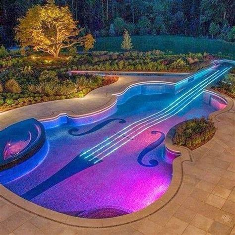guitar shaped swimming pool guitar shaped swimming pool wow