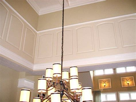 Unique Wainscoting Ideas Wainscoting Idea Two Story Wall Two Story Sitting