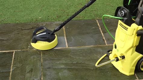 pressure washer patio brush how to clean patios with the k 228 rcher pressure washer and