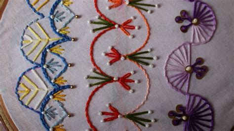 design for embroidery stitches hand embroidery designs basic embroidery stitches part