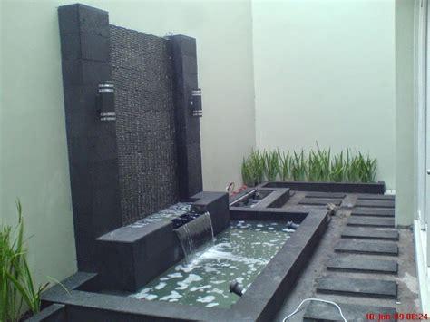 desain gambar ikan contoh dan desain kolam ikan minimalis di rumah