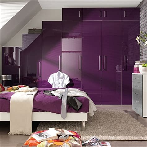 Purple Wardrobes by Bedrooms