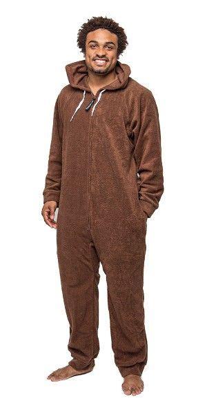for adults brown deluxe onesies footed pajamas onesie footie