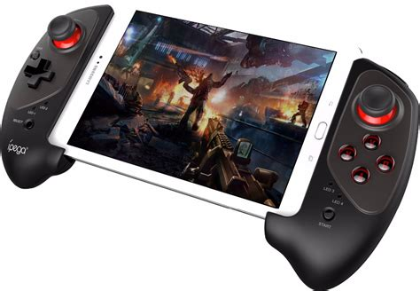 Gamepad Bluetooth Connection Teleskopik Desain Diskon ipega telescopic wireless bluetooth gaming controller pg 9083 black jakartanotebook