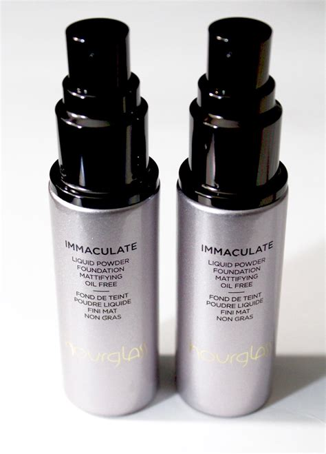 immaculate hair grease hourglass immaculate liquid powder foundation