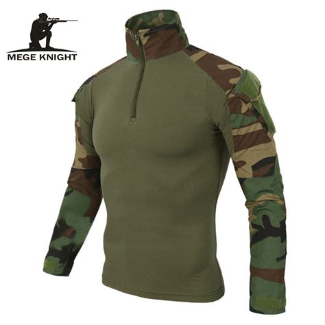 Kaos Bducombat 1 mege 12 camouflage colors us army combat shirt cargo multicam airsoft paintball