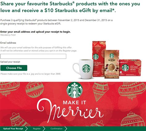 Buy A Starbucks Gift Card - starbucks canada offers 20 gift card for 15 with