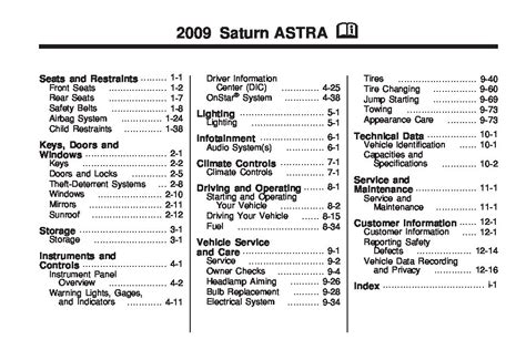 service manual free car repair manuals 2009 saturn astra electronic throttle control haynes