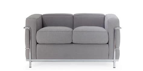 lc2 sofa lc2 zweisitzer sofa corbusier reproduktion