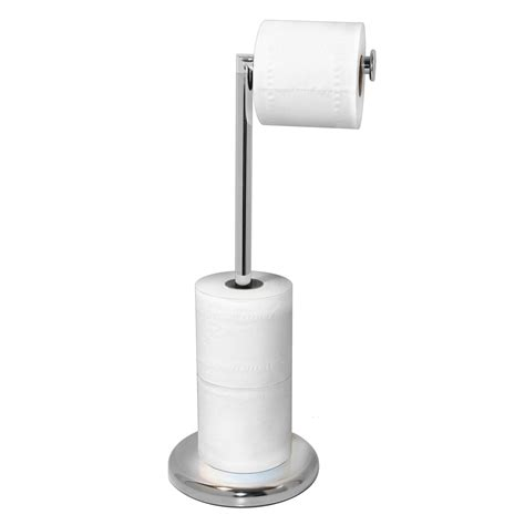 toilet roll holder chrome rotating arm toilet roll holder