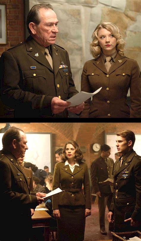 natalie dormer captain america jones hayley atwell and chris in captain