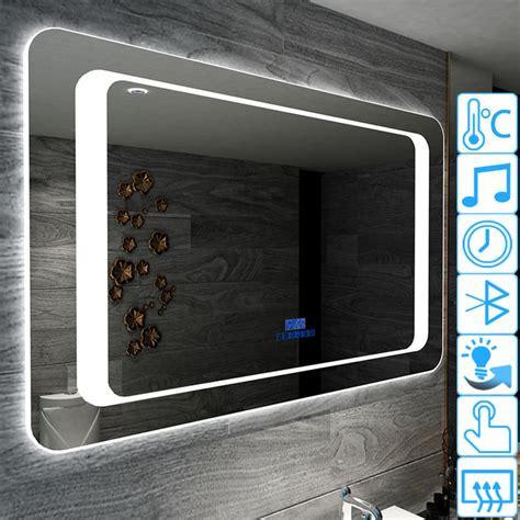 Miroir Salle De Bain Bluetooth 5437 by Miroir Lumineux Led Design Anti Bu 233 E Avec Bluetooth