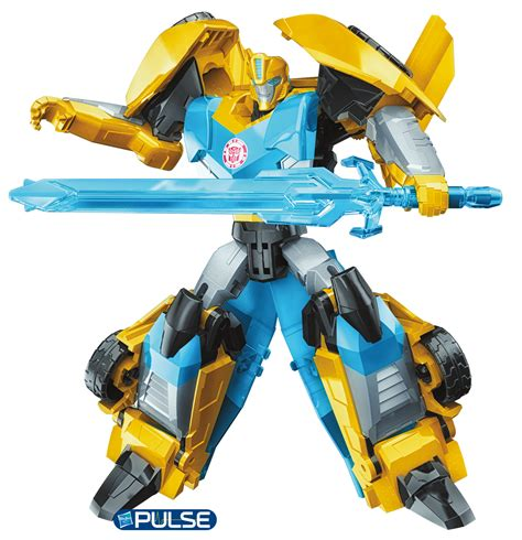 Robot Transformers Bumblebee robots in disguise clash of the transformers warriors cg