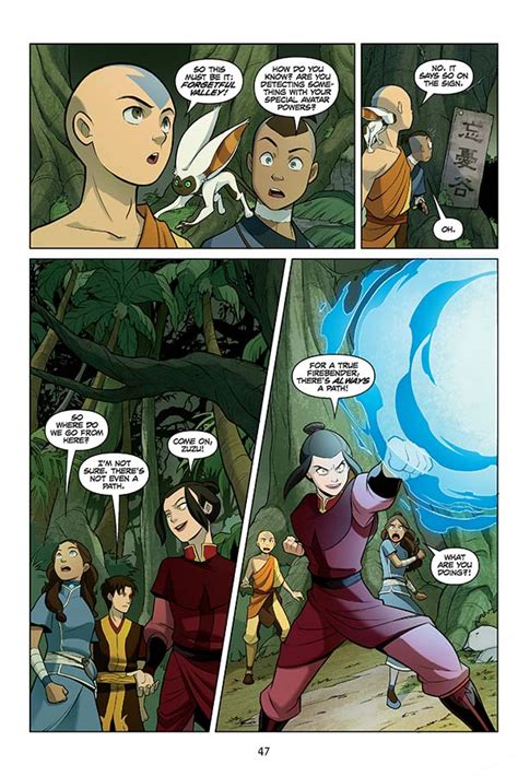Avatar The Last Airbender Vol 5 preview avatar the last airbender vol 5 search part 2