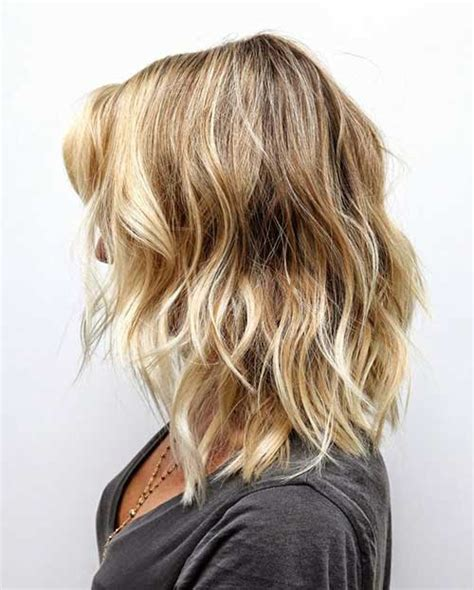 medium to short hairstyles with highlights and layers or stacked medium view gallery